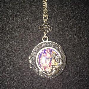 Opal Mermaid Locket